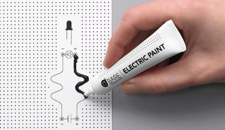 Electric Paint 10ml – Bare Conductive